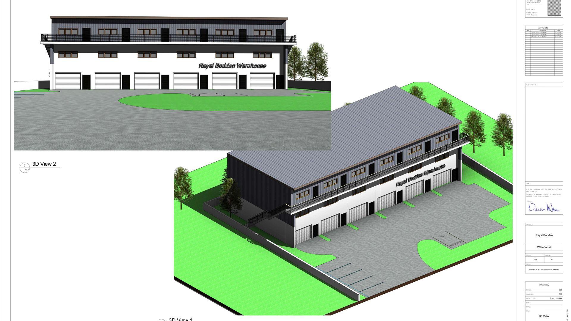 Industrial Park Warehouse Unit 1 (Pre-Construction)