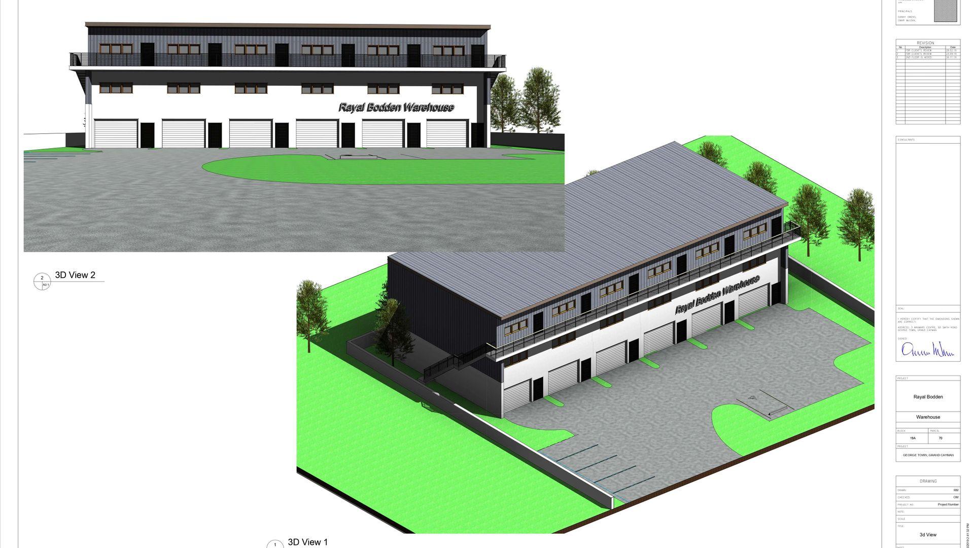Industrial Park Warehouse Unit 2 (Pre-Construction)