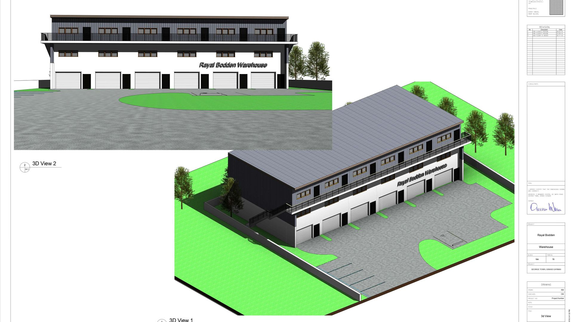 Industrial Park Warehouse Unit 3 (Pre-Construction)