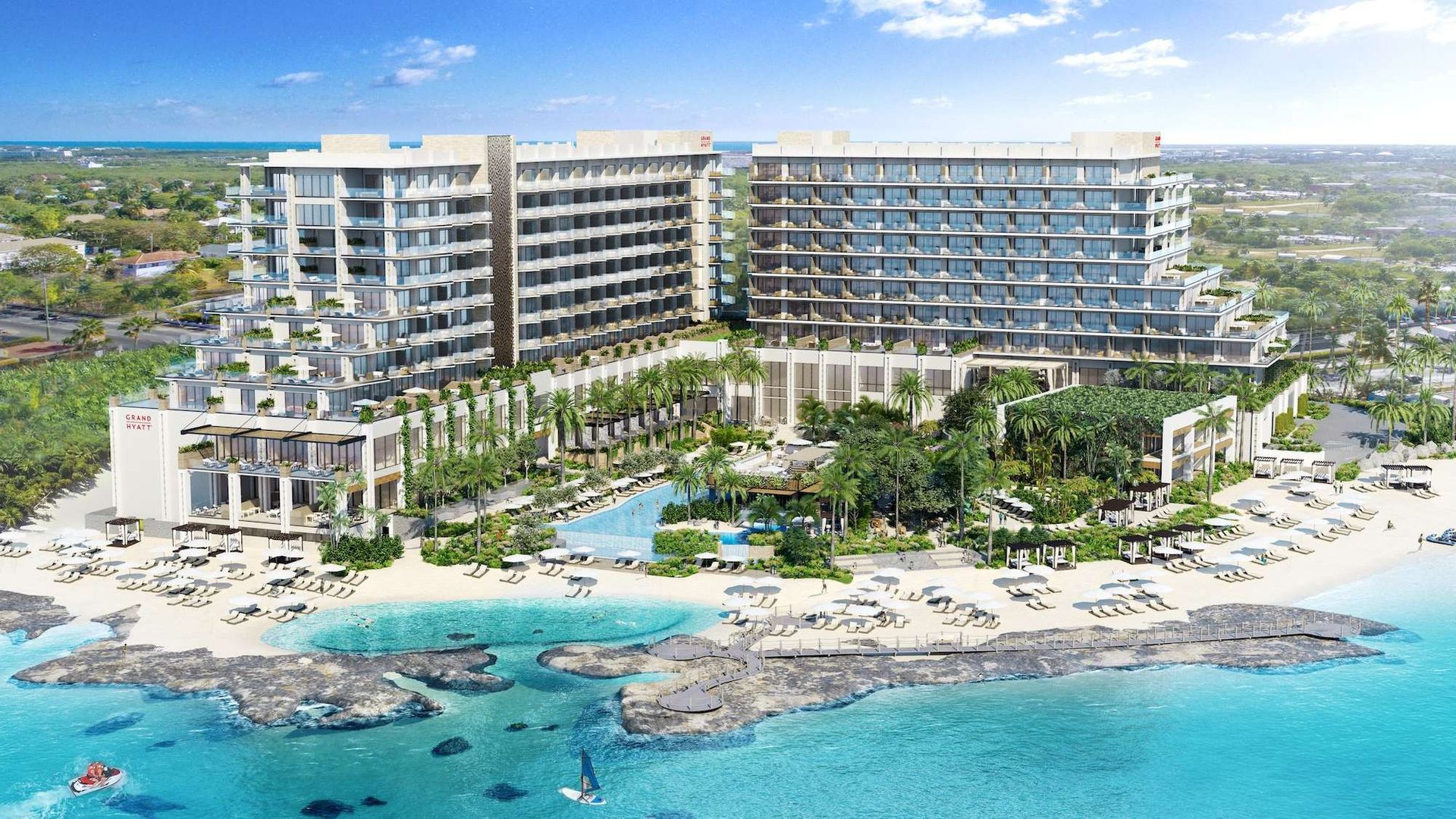 Grand Hyatt – Beach Resort – Beachfront Studio Suite