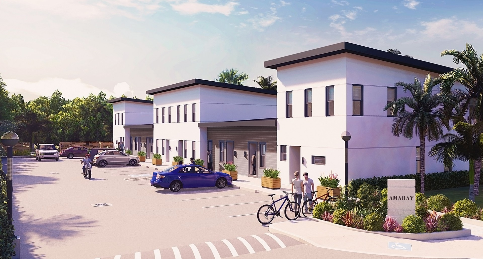 New Amaray One Bdrm Townhome