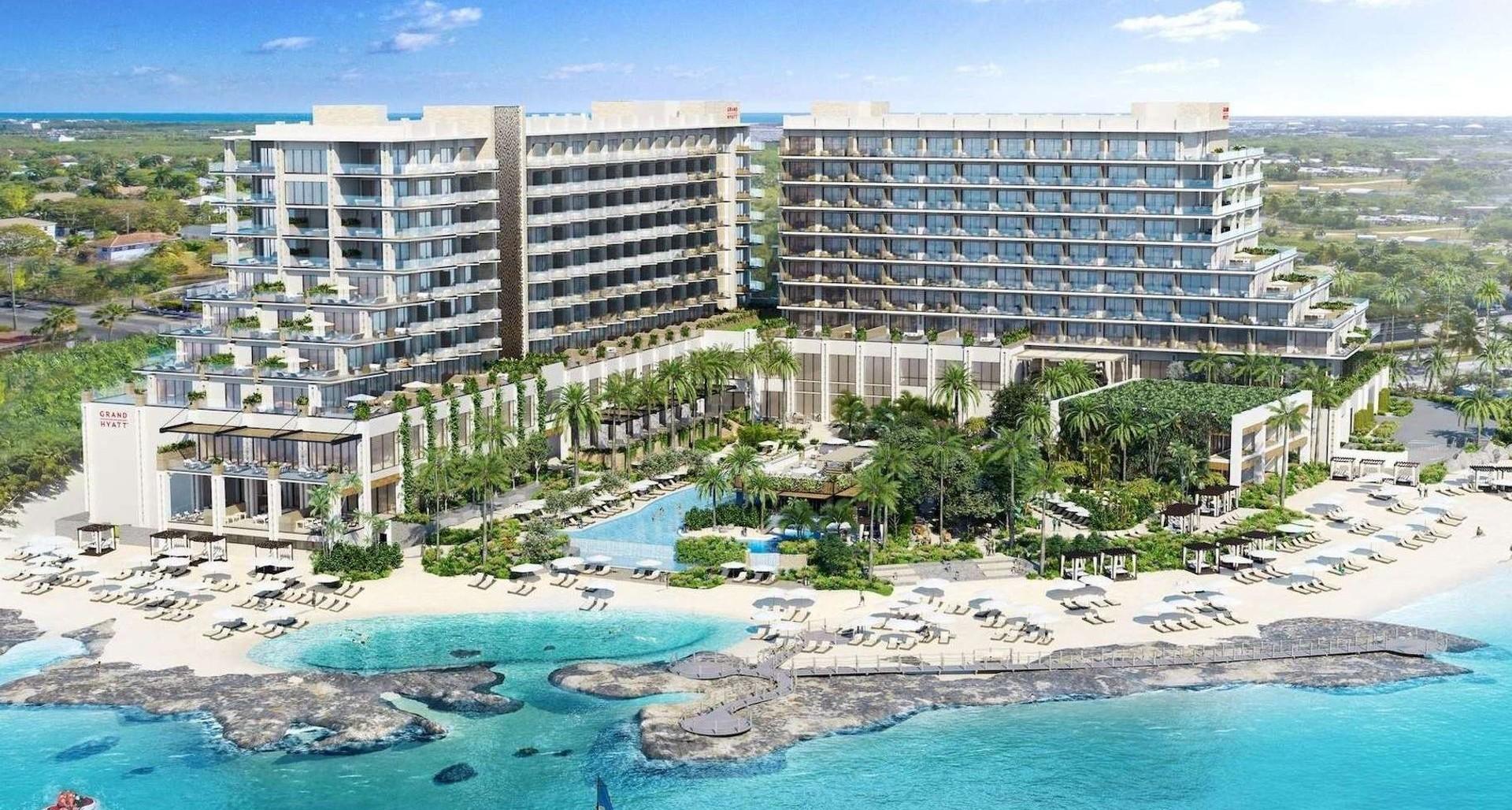 Grand Hyatt – Beach Resort – 3BR Beachfront Corner